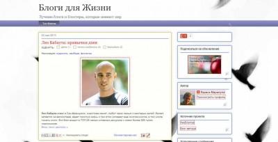 ТОП блогов интернета