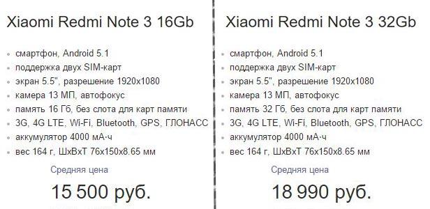 texnicheskie_xarakteristiki_cena_xiaomi_redmi_note_3