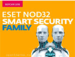 Антивирусная программа ESET NOD32 Smart Security Family для Windows 10