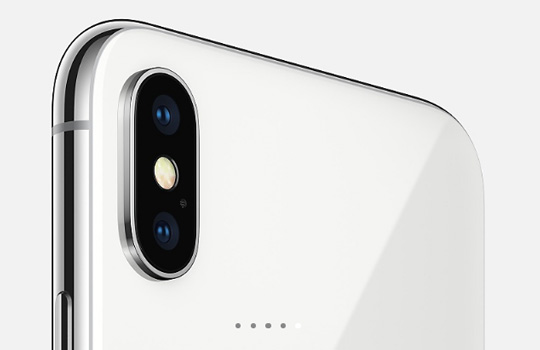 foto video kamera zadnyaya panel iphone x