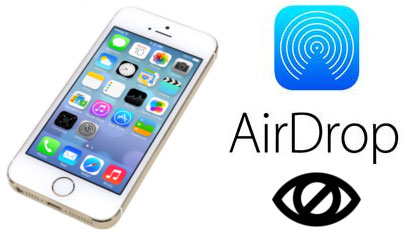 airdrop ne vidit iphone