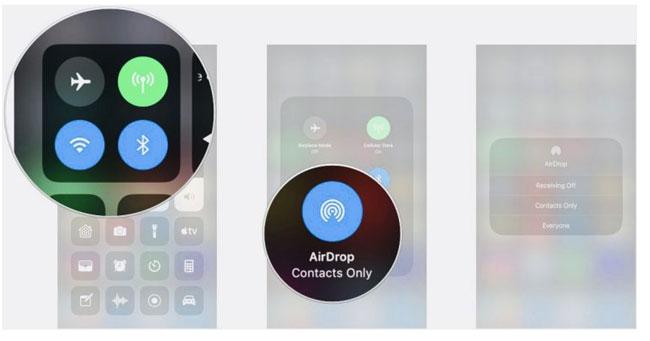 vklyuchaem airdrop na iphone