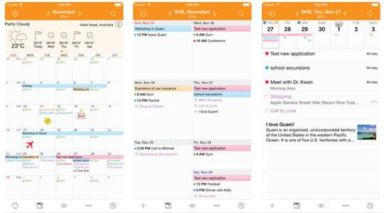 prilozhenie awesome calendar skrin
