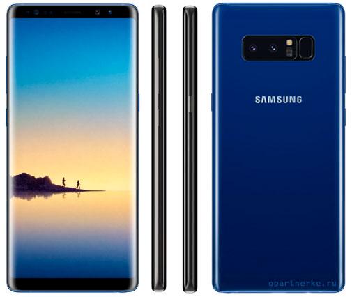 obzor harakteristik smartfona samsung galaxy note 8
