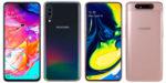 Краткий обзор смартфонов Samsung Galaxy A80 и A70