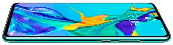 displej smartfona huawei p30