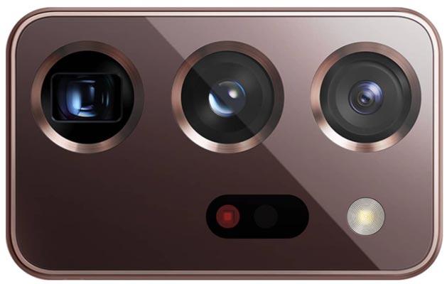 kamery samsung galaxy nota 20